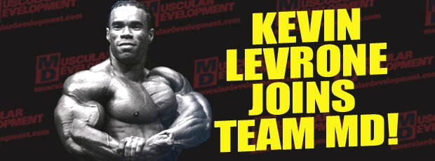 Kevin Levrone Joins Team MD