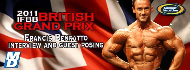 Francis Benfatto Interview and Guest Posing at the BGP 2011