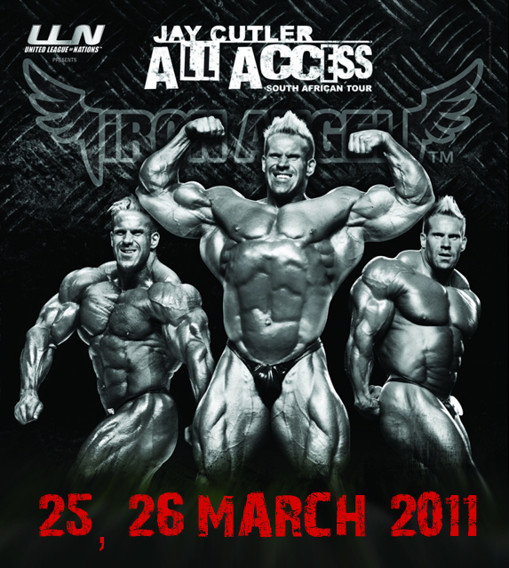 Jay Cutler All Access Tour, Seminar: South Africa March 25 - 26