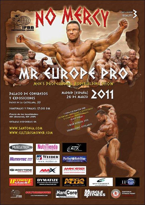 Mr. Europe Pro - March 26 Madrid (Updates)