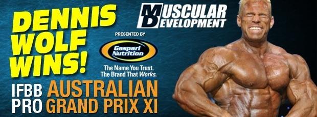 2011 Australian Pro Grand Prix Competitor's List (Update)