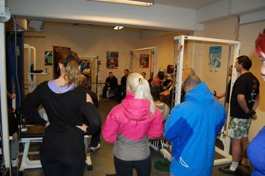 Markus Ruhl in Norway visit 3 different gyms!