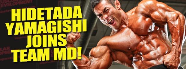 Hidetada Joins Team MD!