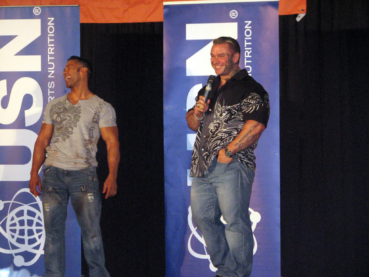 Lee Priest (Update)  In Cape Town, South Africa today!