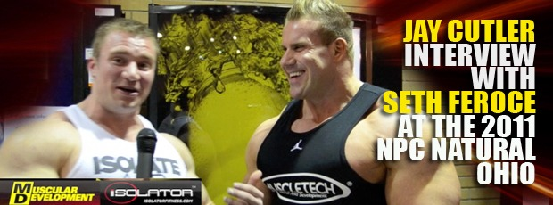 Cutler interview with Seth Feroce at the 2011 NPC Natural Ohio!