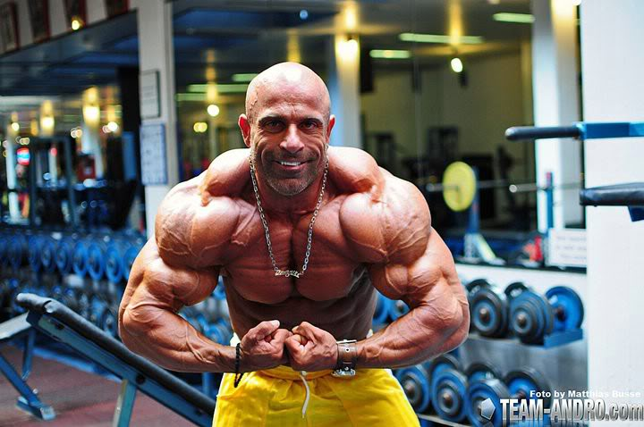 IFBB Pro, Family Man and Taxi Driver : Kefalianos!