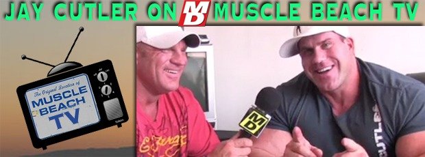 Jay Cutler Dispels the Rumors on MD's Muscle beach TV of him moving to LA!