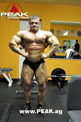Alexey Lesukov 7 days out from Amateur Olimp Challenge 2011 FIBO POWER