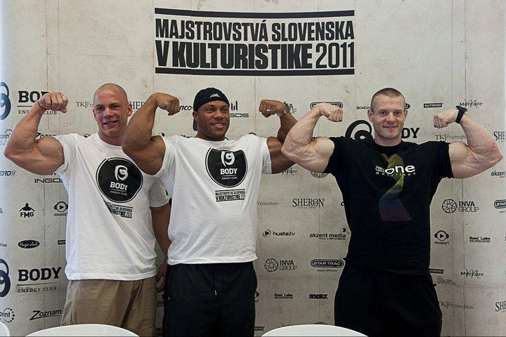 Phil Heath Guest Posing: Bratislava April 30 2011