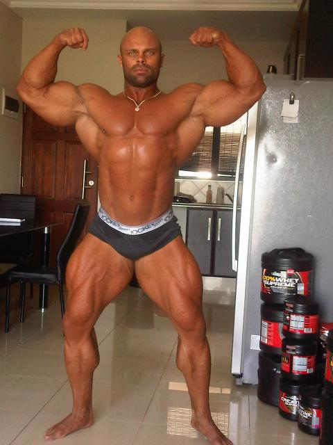 Marius Dohne 8 Weeks Out Fron Tampa Pro 2011!