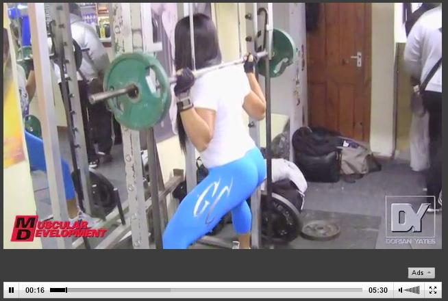 Dorian Yates Wife: Gal Ferreira Yates Brazilian Leg Workout!