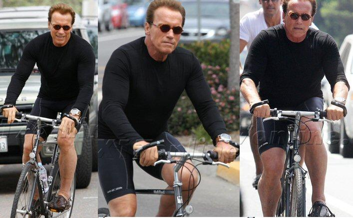 Arnold Schwarzenegger Training Recently!