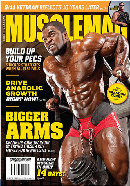 MuscleMag October 2011 (Preview)