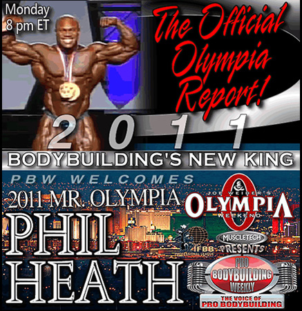 2011 Mr. Olympia - Photos and Videos, webcast replays ..etc