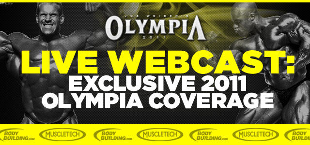 2011 Olympia Webcast Link Here!