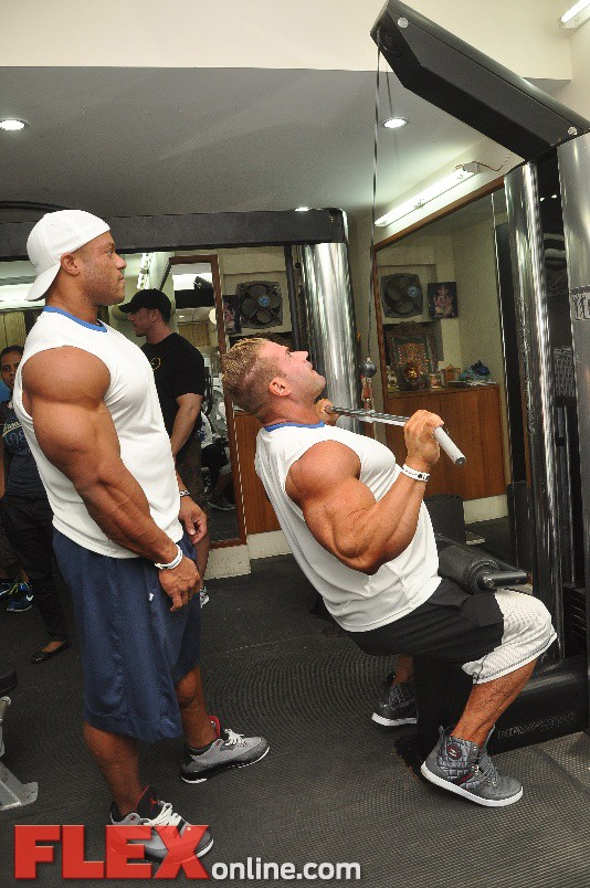jay n phil working out at the gym11 1