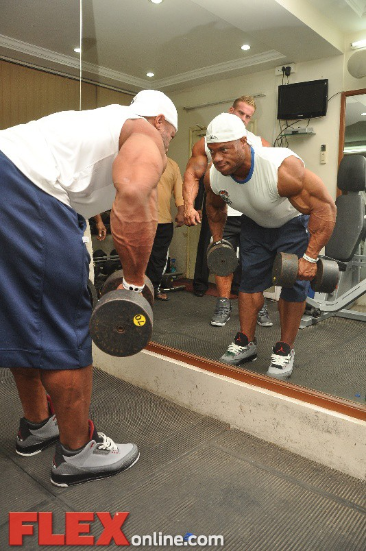jay n phil working out at the gym70 0 1