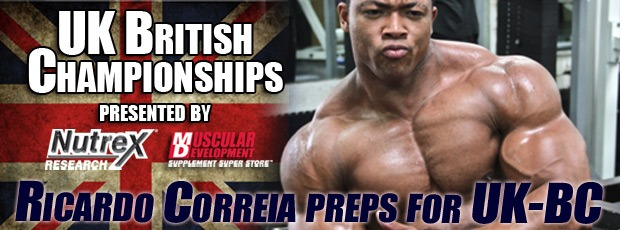 Portuguese Ricardo Correia - prep UK Nationals!