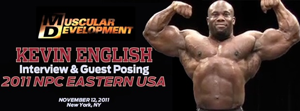 Ronnie Coleman, Steve Kuclo, Juan Morel and Kevin English Posedown at the NPC Eastern