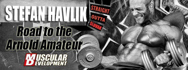 In the Trenches with Euro-Freak Stefan Havlik Road to the Arnold Amateur