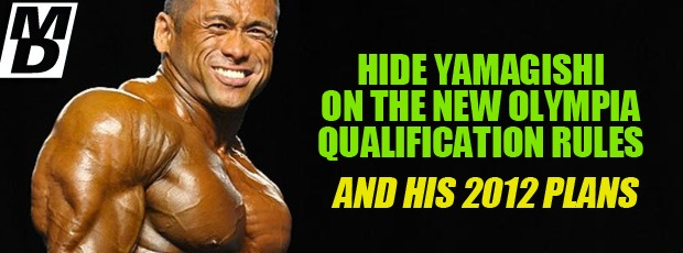 Hidetada on new Olympia qualifications