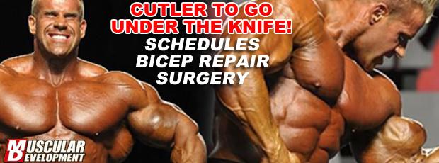 Jay Cutler schedules surgery