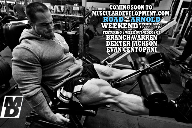"Evan ""Ox"" Centopani: Journey to the Arnold"