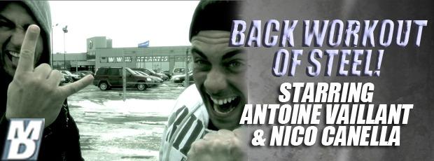 Antoine V - Workout of steel!