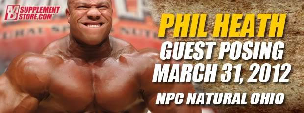 Phil Heath guestposing a npc ohio