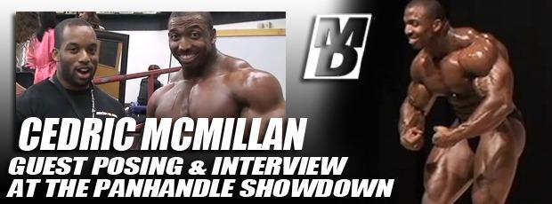 Cedric McMillan - guestposing at the Panhandle Showdown April 14, 2012