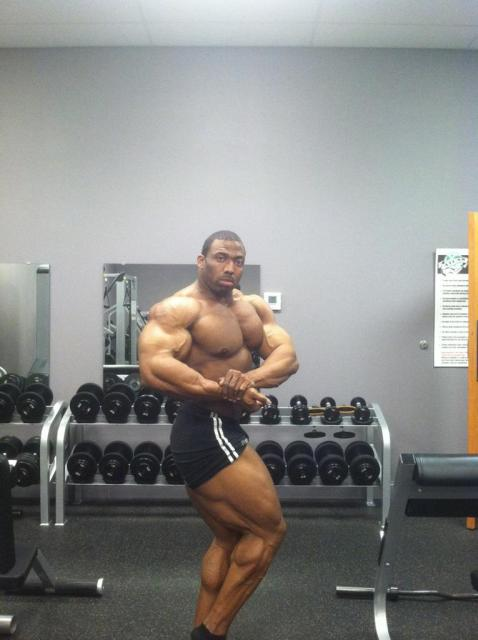 Cedric McMillan Competing in NY Pro!