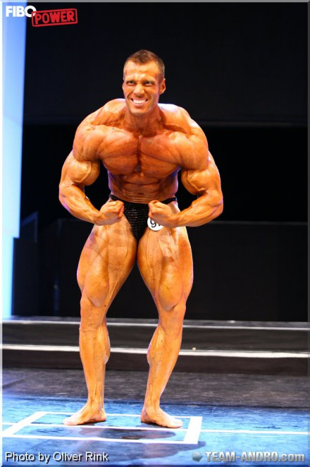 Peter Molnar @ FIBO best amateur on the scene!