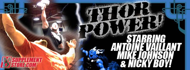 THOR POWER!! Antoine Vaillant