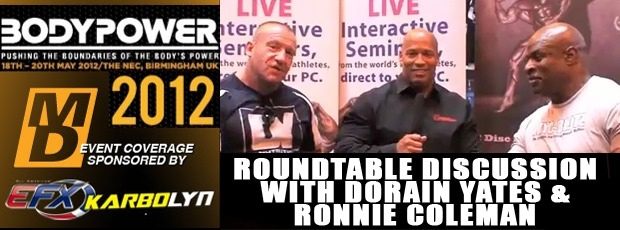 Roundtable Discussion with Dorian Yates, Ronnie Coleman and Shawn Ray