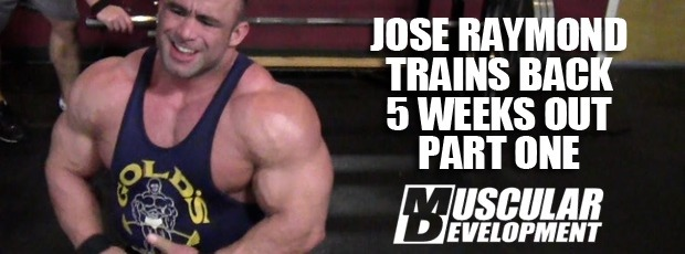 Jose Raymond Preps for NY Pro with a Back Workout