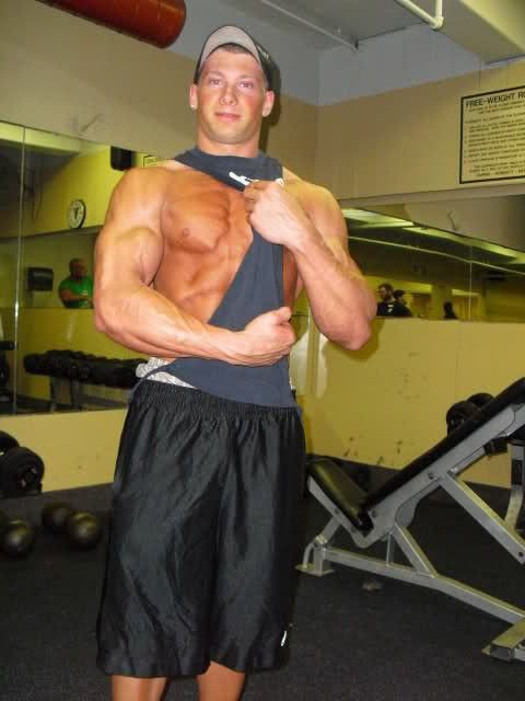 My 16 year-old training partner 1 week out from NPC Mr. Pittsburgh