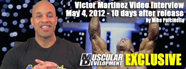 Victor Martinez Video Interview May 4, 2012