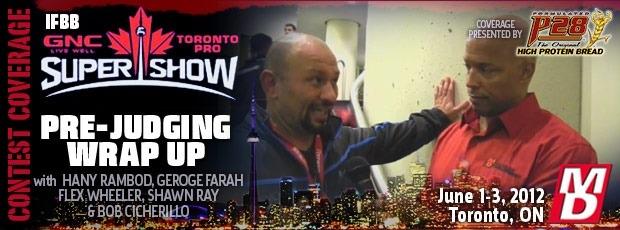 Toronto Pro Official thread!
