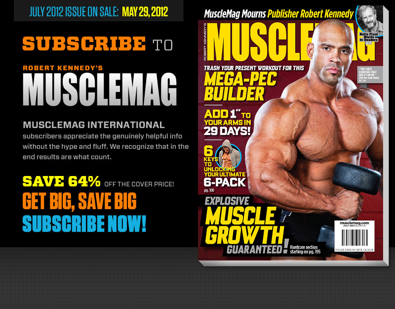 MuscleMag #362 July, 2012 (Preview)