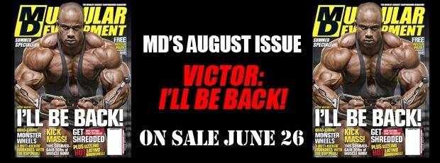 Next MD Cover: Victor! I?ll be back!
