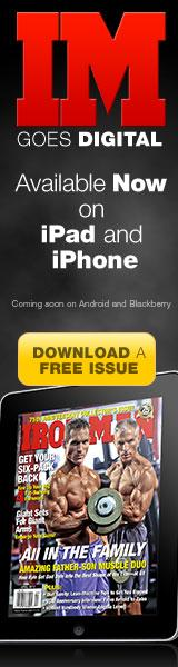 Ironman Mag Free Edition for Ipad or Iphone