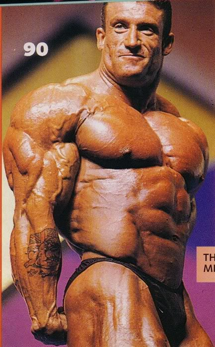Displaying (18) Gallery Images For Dorian Yates 2009