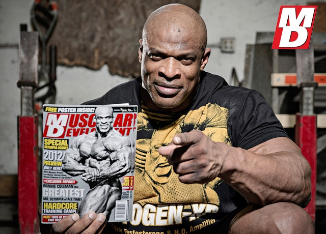 Ronnie Coleman Re-Signs with MD