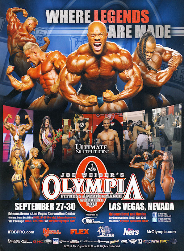 Top 6 Guess - FINAL Stage (13th) Mr Olympia 2012.