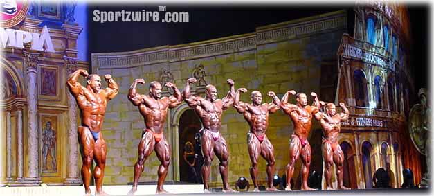 1999 Mr. Olympia - Comparison PICS You May Not Have Seen!!!