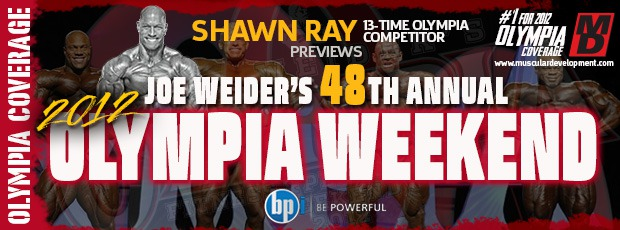 SHAWN RAY OLYMPIA 1