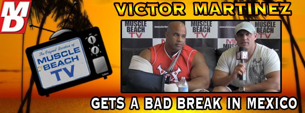 Victor Martinez Seriously Injured!