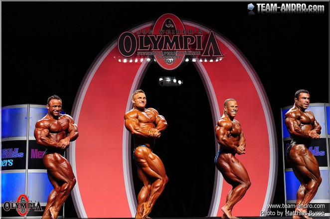 212 Olympia Showdown!