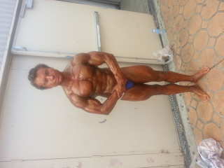 Tonka at 167 lbs 3 weeks out 22 years old age
