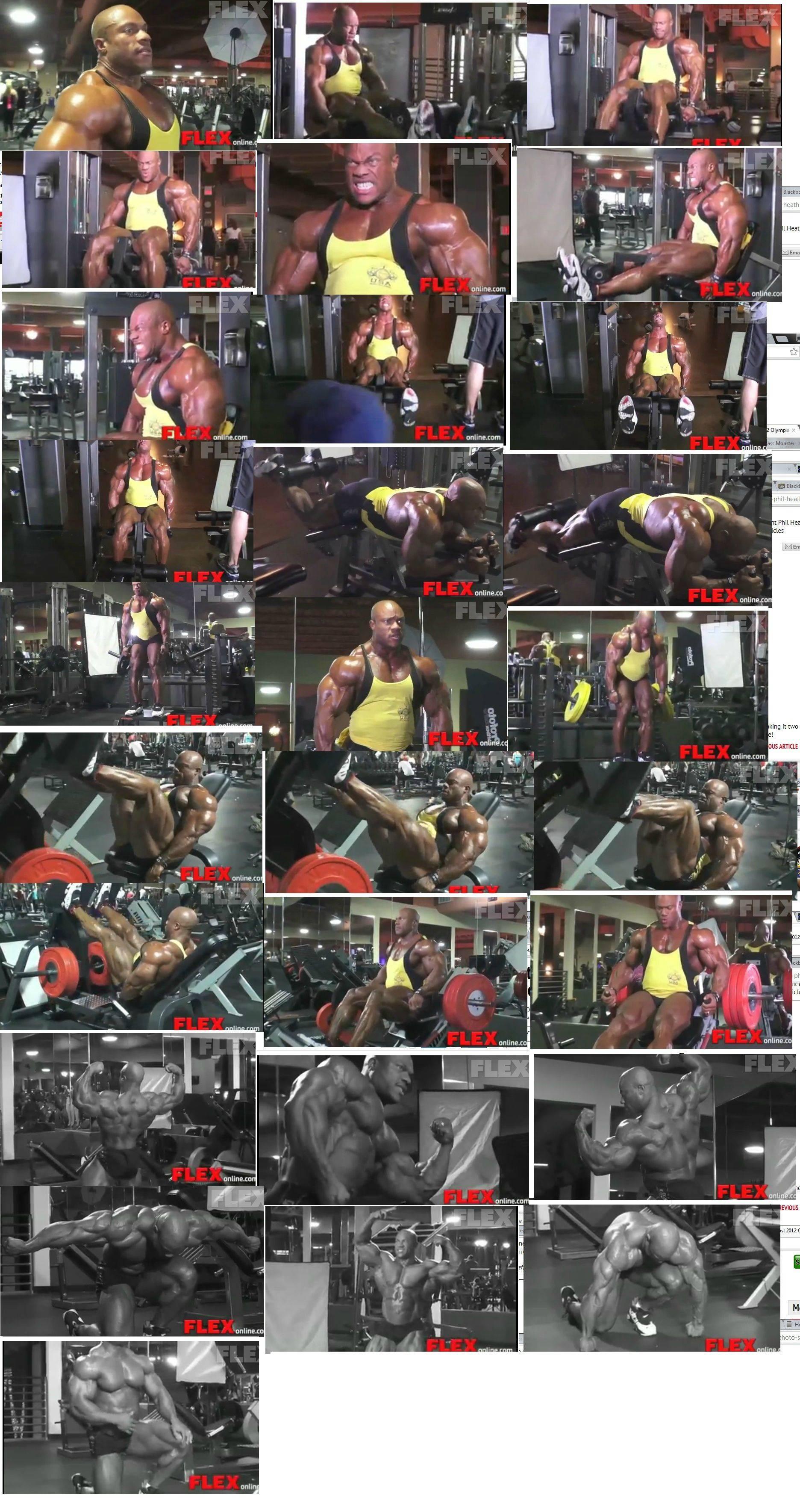 Phil Heath & Kai Greene's photoshoots after the 2012 Olympia!